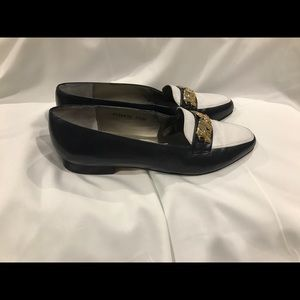 Ros Hommerson Wmn's Loafers Size 9  Leather #A50.